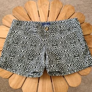 American Eagle Outfitters Black & White Shorts